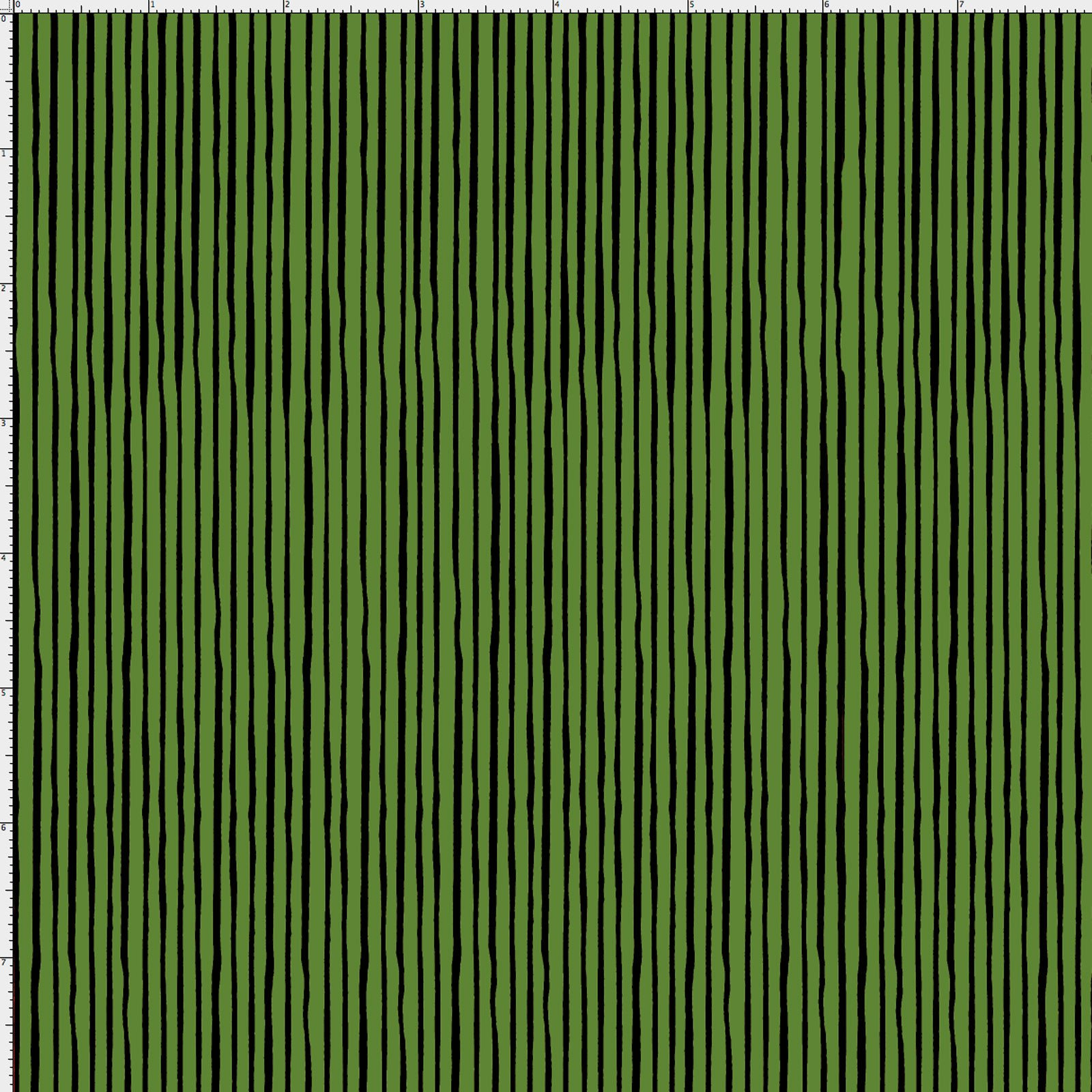 【Loralie Designs】- Quirky Pin Stripe Forest Green -(ULH-168)
