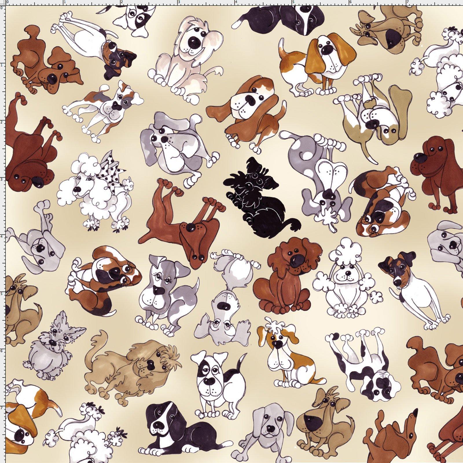 【Loralie Designs】Tossed Doggies Bone (ULH-289)