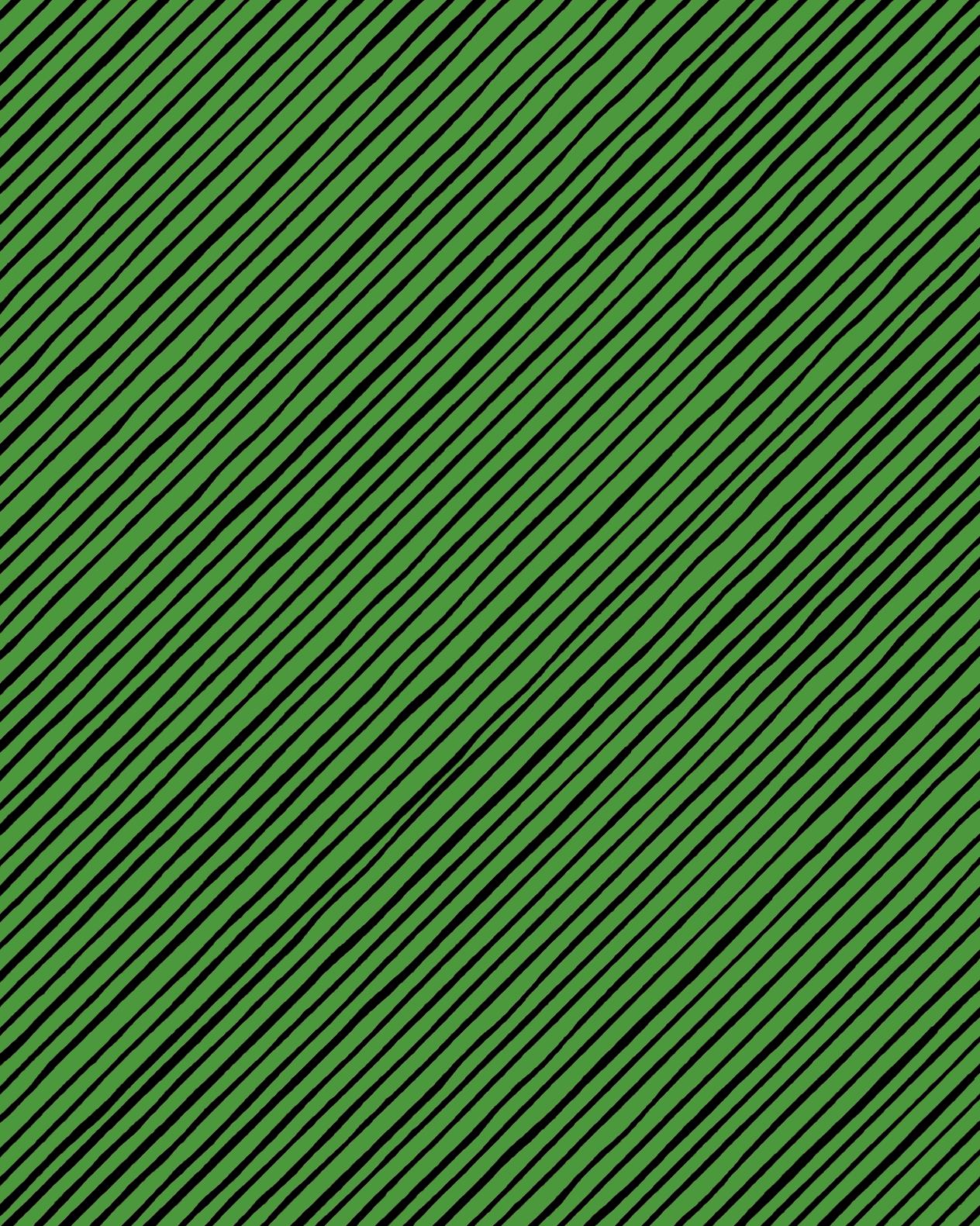 【Loralie Designs】- QUIRKYBIAS STRIPE GREEN -(ULH-317)