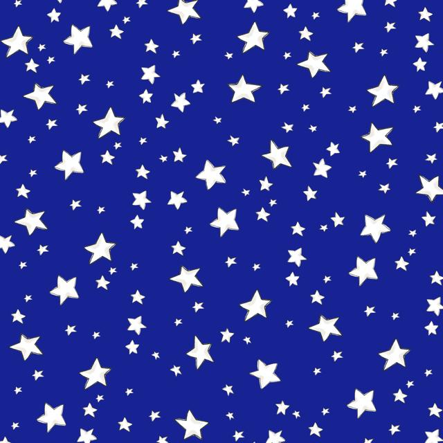 【Loralie Designs】- My Stars Blue Fabric -(ULH-323)
