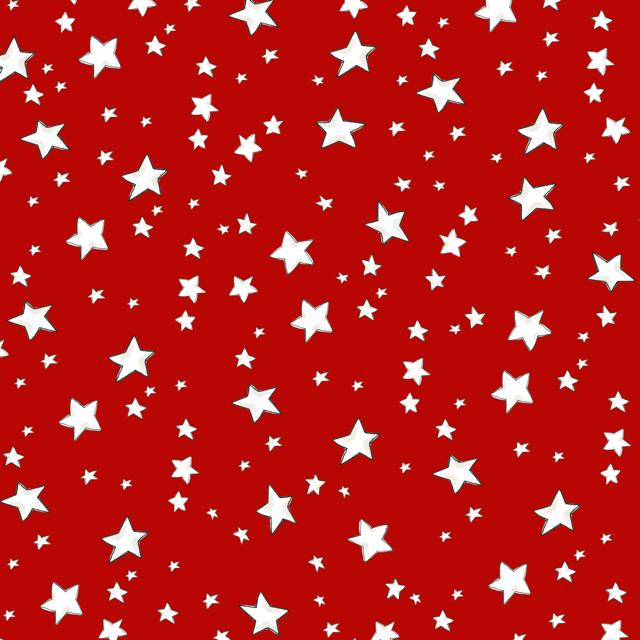【Loralie Designs】- My Stars Red Fabric -(ULH-324)