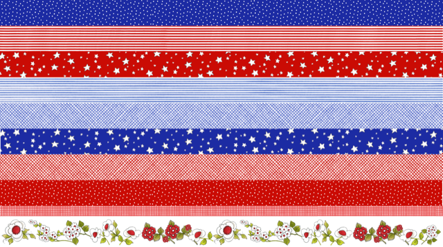 【Loralie Designs】US Strip Fabric Panel(ULH-328)