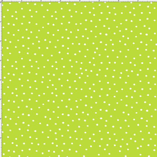 【Loralie Designs】- Dinky Dots Lime / White  - (ULH-125)