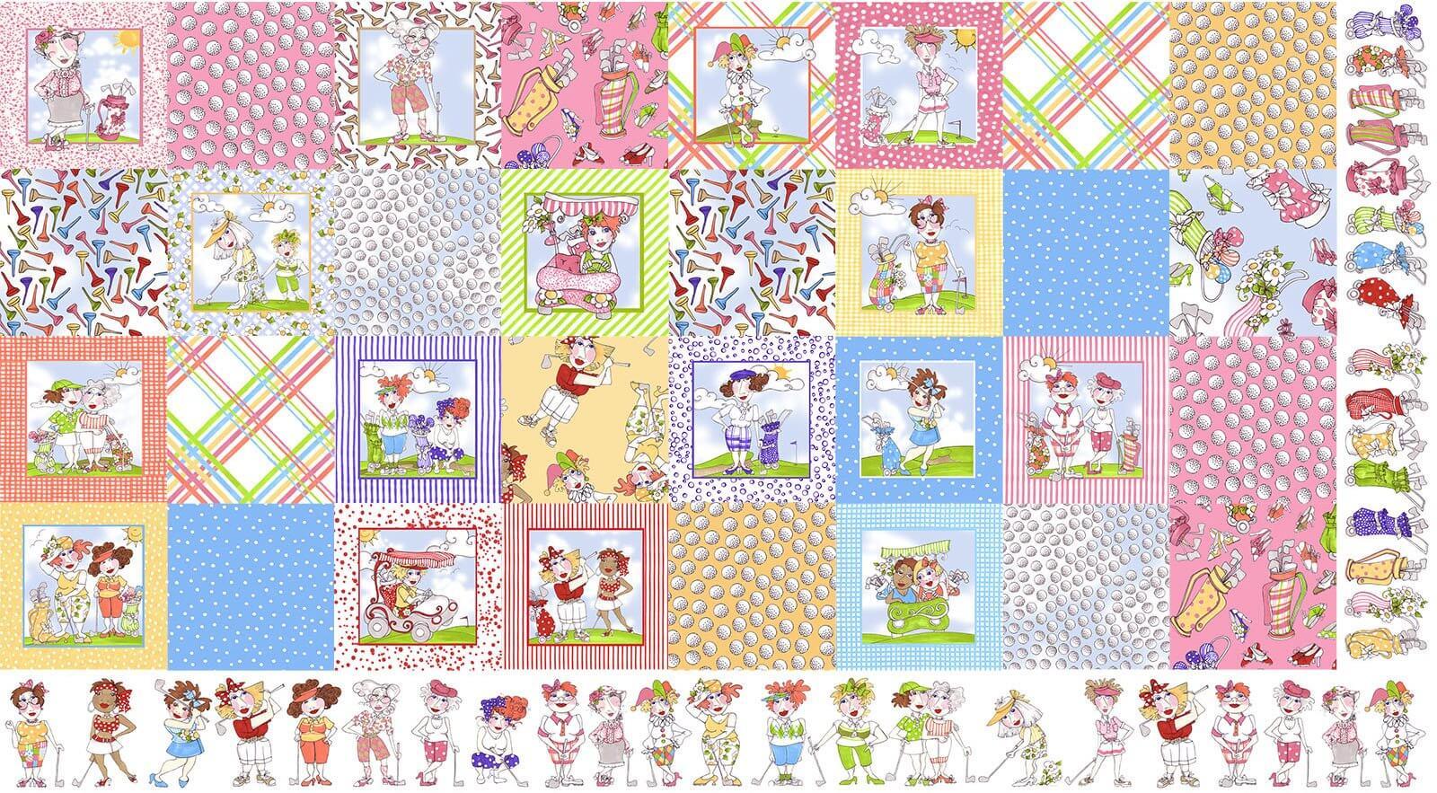 【Loralie Designs】Medley You Golf Girl! (ULH-230)