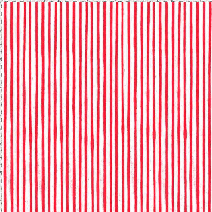 【Loralie Designs】-Sweet Stripe/red-(ULH-249)