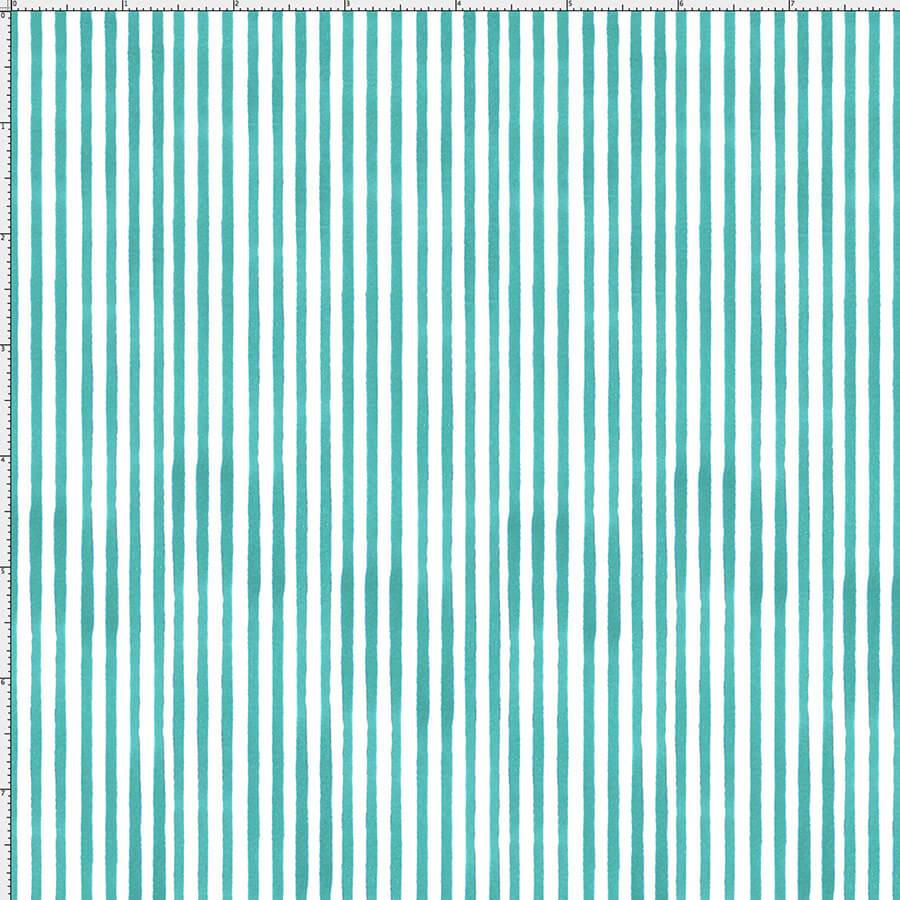 【Loralie Designs】 Sweet Stripe/Turquoise(ULH-250)