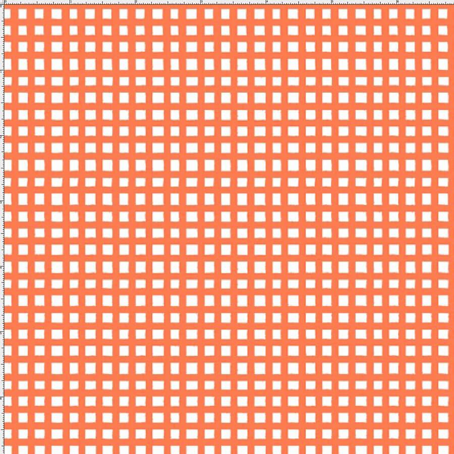 【Loralie Designs】-Chipper Check/Orange-(ULH-252)
