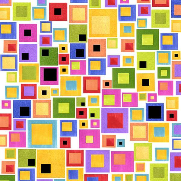 【Loralie Designs】Blocksalot White(ULH-287)