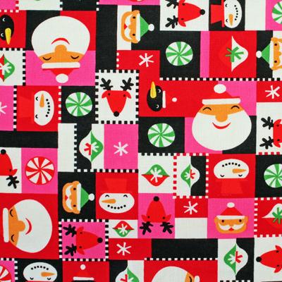 【クリスマス柄】50x55cm (JCH-002) カラーバリエーション