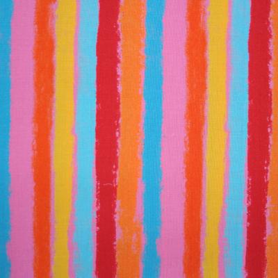 """【郷家啓子先生デザインプリント】""""Stripe""""50x110cm (JGK-001H)カラーバリエーション"""