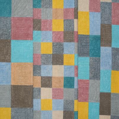 """【郷家啓子先生デザインプリント】""""Three Squares""""50x110cm (JGK-003H)"""