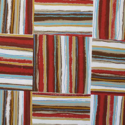 """【】郷家啓子先生デザインプリント""""Checkerboad Stripe"""" 50x110cm (JGK-010H) カラーバリエーション"""