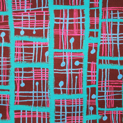 """【郷家啓子先生デザインプリント】""""Maze"""" 50x110cm (JGK-018H) カラーバリエーション"""