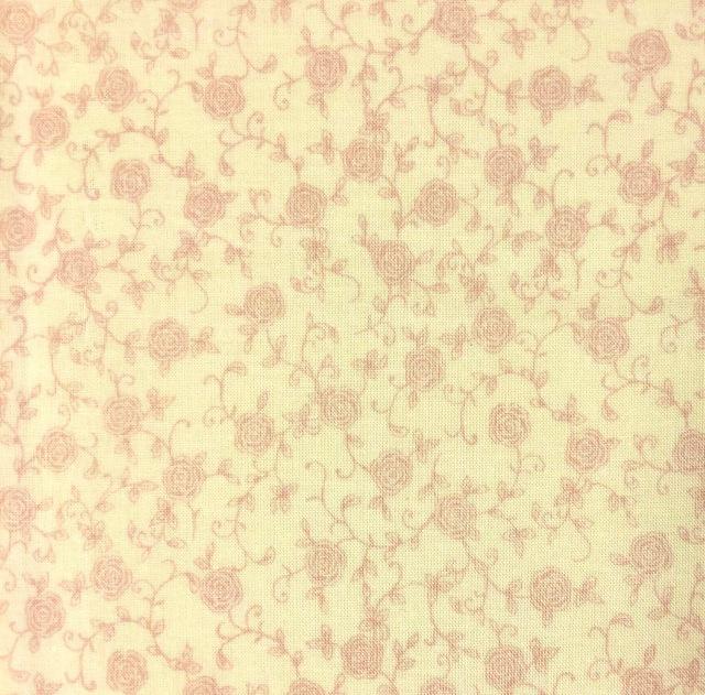 【花柄 プリント】(JOT-034) クリーム