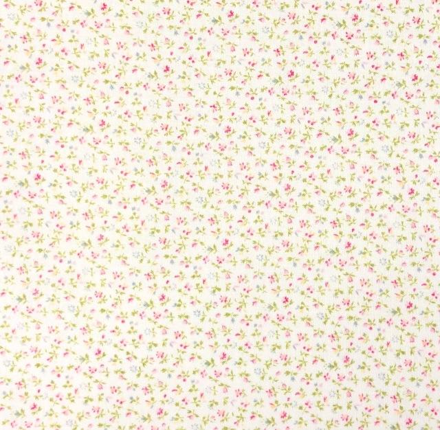 【花柄 プリント】(JOT-038) クリーム