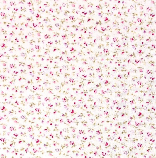【花柄 プリント】(JOT-039) ピンク