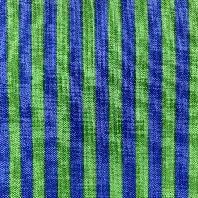 【ストライプ柄】(JOT-180)50×55cm  グリーン/ブルー