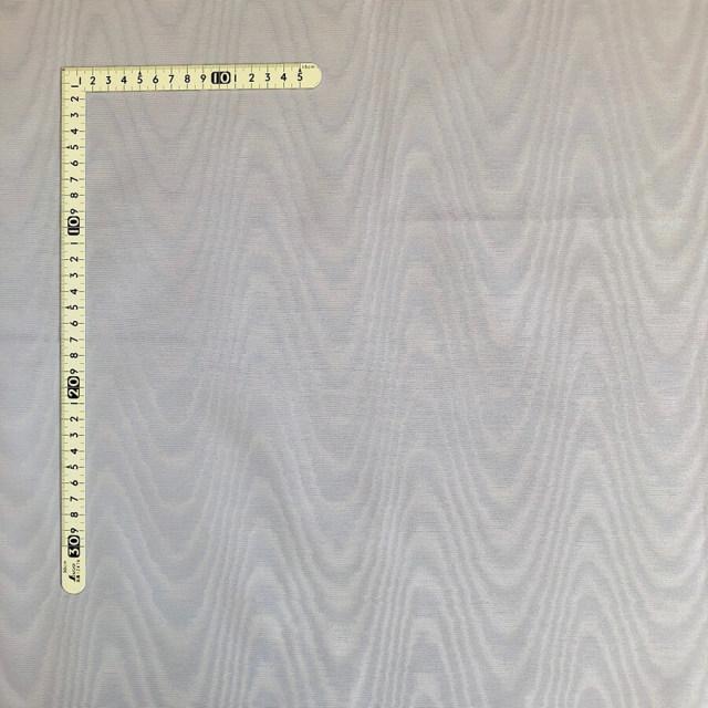 【モアレ】シルバーグレー/銀灰 綿64% ポリエステル36%(MO-002)