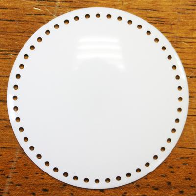 【マカロン・コインケース作成に最適!】つつみボタン 縁穴タイプ「直径 5 cm・2枚入り」(NOT-110)