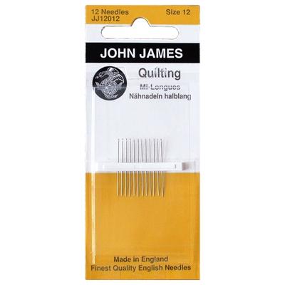 【JOHN JAMES / ジョン・ジェームス】キルティング針 (NOT-115) バリエーション