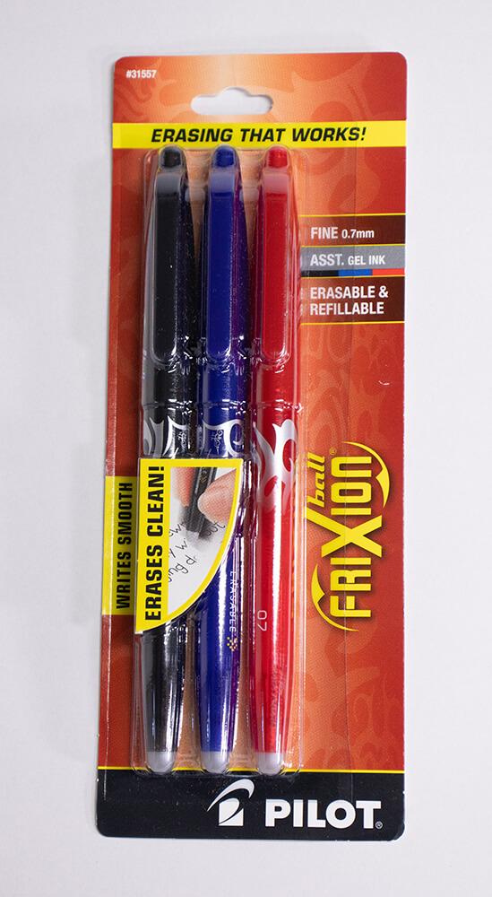 フリクションペン3色セット