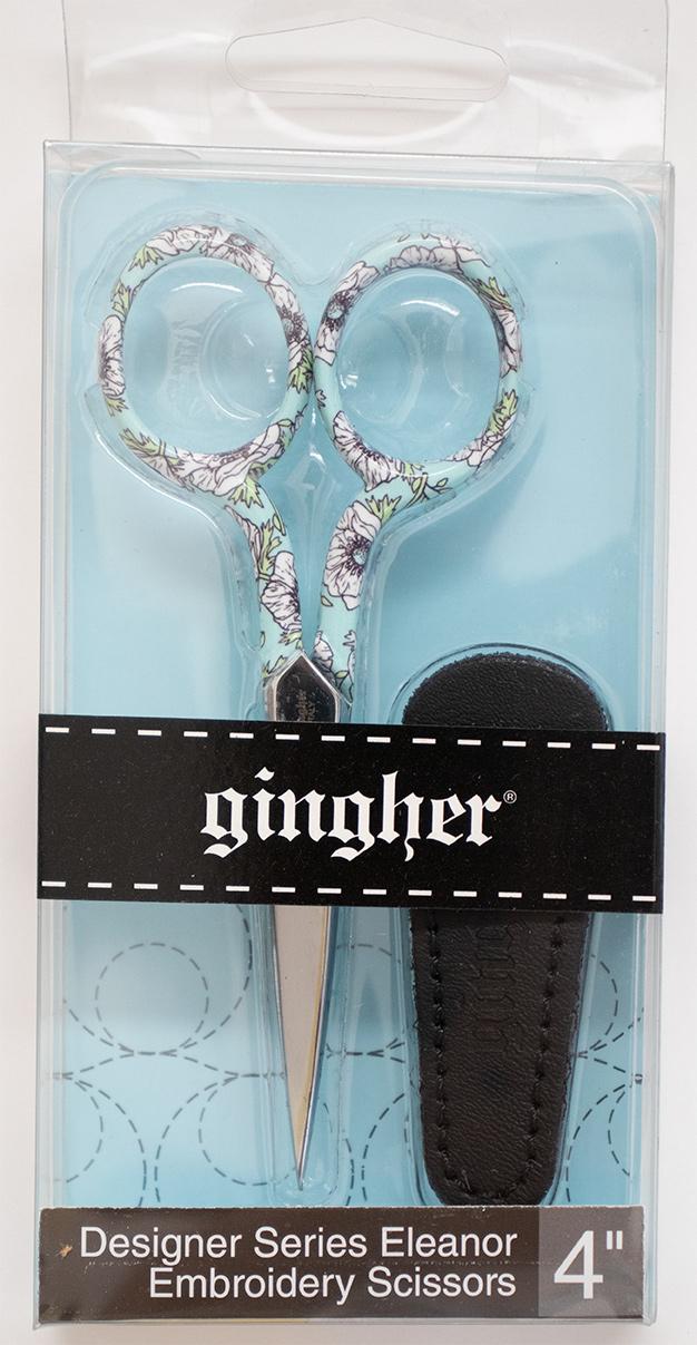 【GINGHER / ギンガー 2018モデル Eleanor Embroidery (エレナーインブロイダリー)】 4インチ[安全ケース付き」/ #4 (NOT-196)