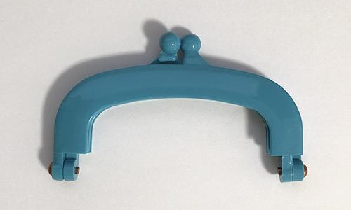 【プラスチック口金】10cm×6cm ブルー(NOT-213)