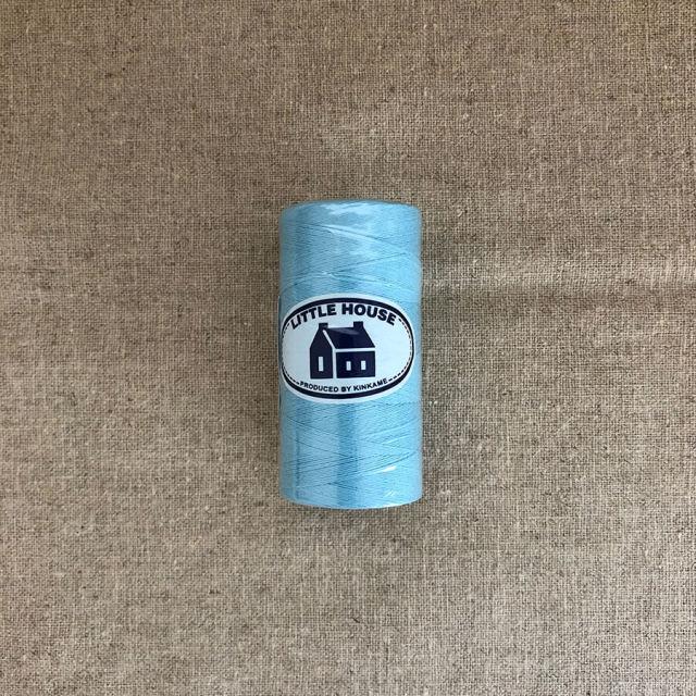 しつけ糸 500m巻 コットン100% ブルー (NOT-217(01))