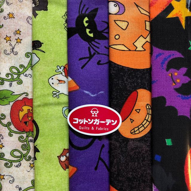【Halloween柄】5枚セット (SE-HALL002)