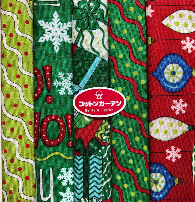 【クリスマス柄】5枚セット(SE-XMAS001)
