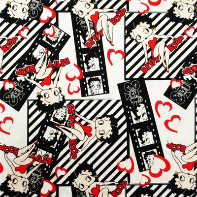 【Betty Boop】ベティ・ブープ 50x110cm(UBE-019H) カラーバリエーション