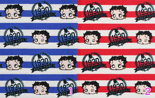 【Betty Boop】ベティ・ブープ (UBE-021)-カラーバリエーション-ブルー,レッド