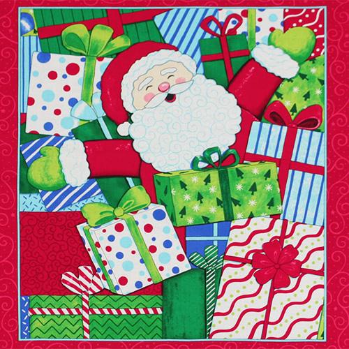 【クリスマス柄パネルプリント】60x110cm (UCH-068)