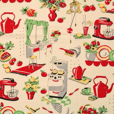 【Foods&Kitchen柄】50x55cm (UFK-070)