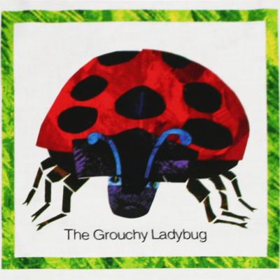 【The Grouchy Ladybug】ごきげんななめのてんとうむし パネルプリント 60x110cm(UGL-003)