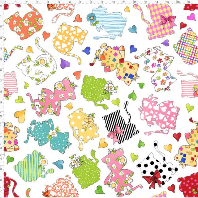 【Loralie Designs】- Applicats White Fabric (ULH-014)