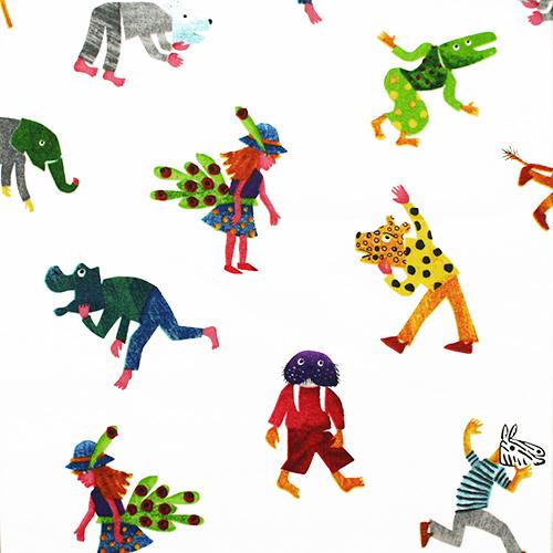 【Polar Bear Kids - USAコットン - 】 50x55cm (UHC-027)
