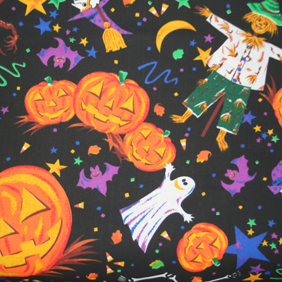 【USA】Halloween柄 50x55cm (UHW-014)