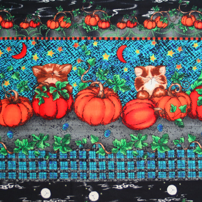 【USA】Halloween柄 50x55cm (UHW-015)