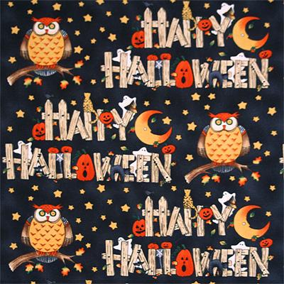 【USA】Halloween柄 50x55cm(UHW-016)