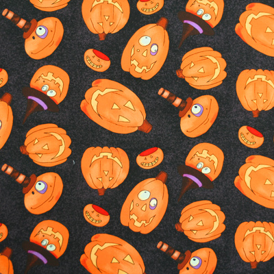 【USA】Halloween柄 50x55cm(UHW-025)