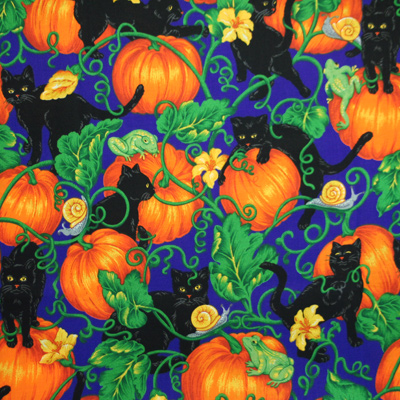 【USA】Halloween柄 50x73cm(UHW-031)