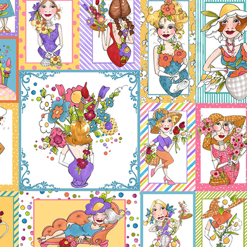 【Loralie Designs】- Blossom Panel - 60x110cm (ULH-112)