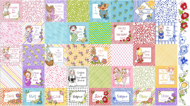 【Loralie Designs】Joy Journey Medley Fabric Panel (ULH-142)