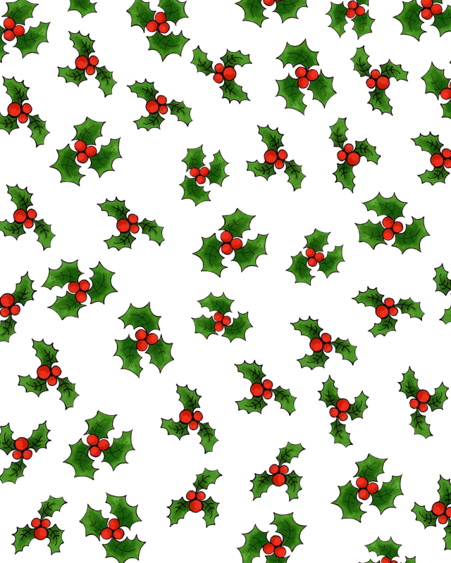 【Loralie Designs】- LOTSA HOLLY WHITE -(ULH-315)