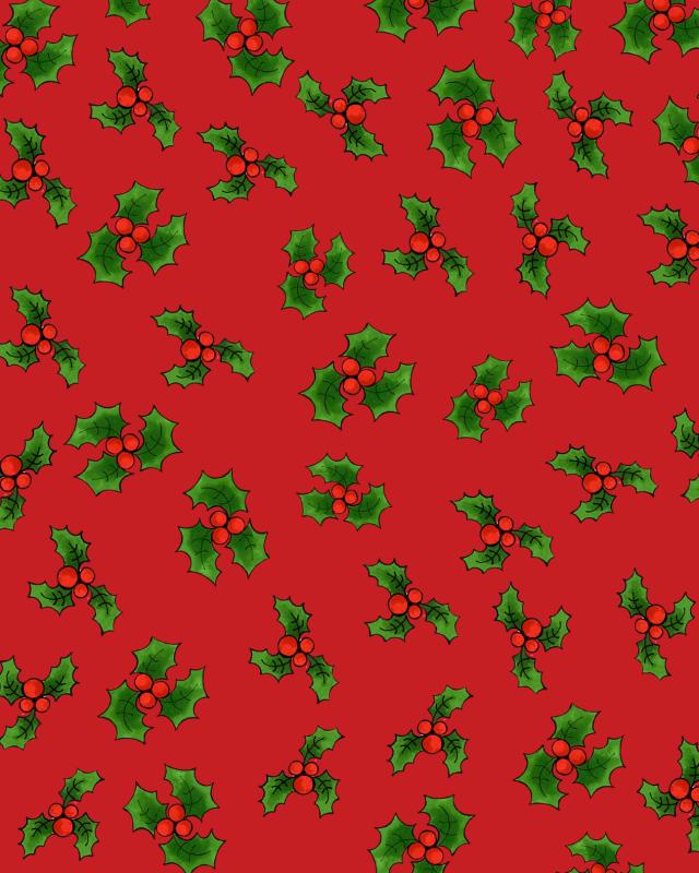 【Loralie Designs】- LOTSA HOLLY RED -(ULH-316)