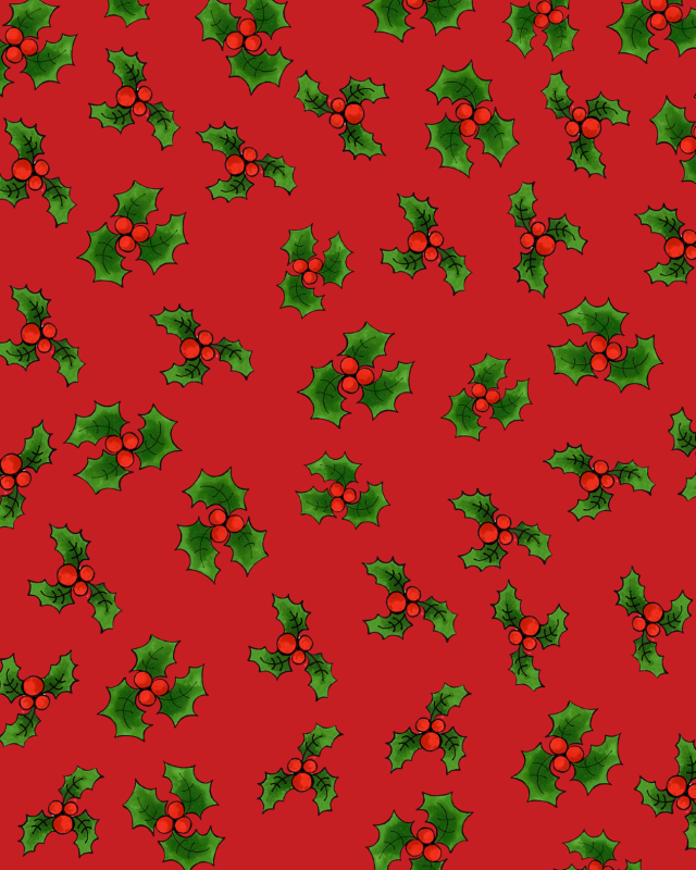 【Loralie Designs】- LOTSA HOLLY RED -(ULH-316)