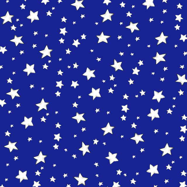 【Loralie Designs】- My Stars Blue Fabric -(ULH-323)