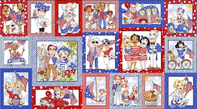 【Loralie Designs】- US Fabric Panel -(ULH-329)