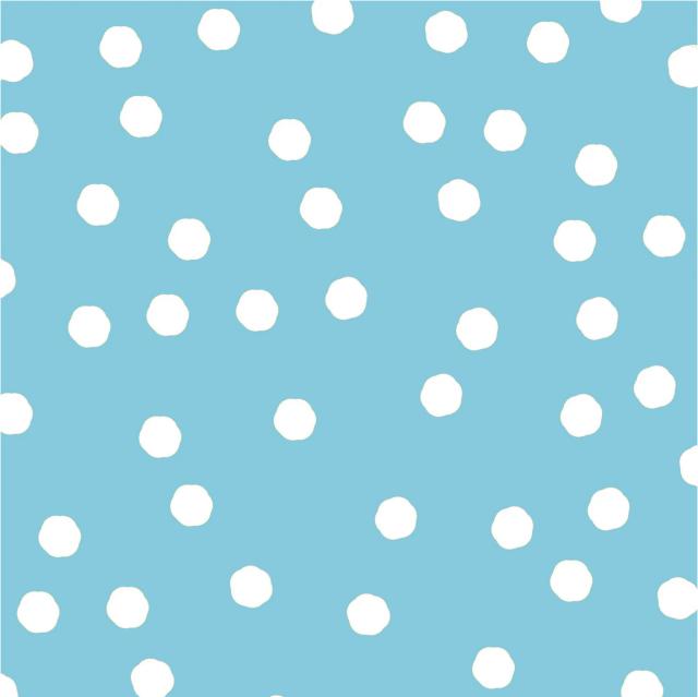 【Loralie Designs】- Jumbo Dots Turquoise (ULH-342)